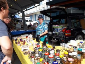 One of our Outdoor Traders at the NBLC Gem Show